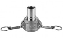 CAMLOCK COUPLER WITH SMOOTH HOSE TAIL
